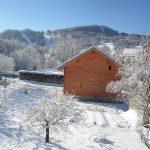 chalet Valrouane hiver ensoleillé